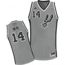 Adidas Gary Neal San Antonio Spurs Swingman Jersey: &14 Grey Alternate Men's NBA