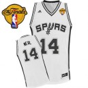 Adidas Gary Neal San Antonio Spurs Swingman Jersey: &14 Finals Patch White Home Men's NBA