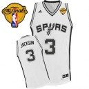 Adidas Stephen Jackson San Antonio Spurs Swingman Jersey: &3 Finals Patch White Home Men's NBA
