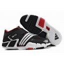 Adidas Pilrahna III T Mac 3.0 Black/White/Red - Tracy McGrady Shoes