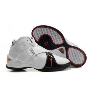 Adidas T Mac 5 White/Black - Tracy McGrady Shoes