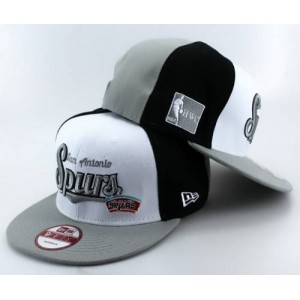 NBA San Antonio Spurs Stitched New Era 9FIFTY Snapback Hats - White