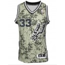 San Antonio Spurs 33 Boris Diaw révolution 30 route Digital Camo Maillot