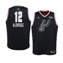 San Antonio Spurs ^ 12 Maillot Swingman Jersey All-Star 2019 LaMarcus Aldridge Noir - Jeunes