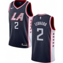 Maillot Kawhi Leonard Blue de NBA The City de & 2 Los Angeles Clippers