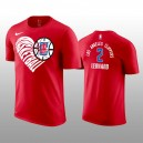 Kawhi Leonard LA Clippers Love You Mean It T-chemise rouge