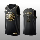 Los Angeles Clippers Kawhi Leonard Noir Swingman Golden édition Maillot