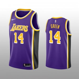 Los Angeles Lakers Danny Green violet Swingman Déclaration Edition Maillot