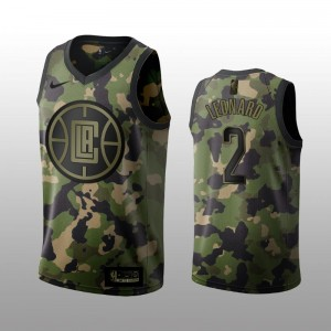 Kawhi Leonard - Maillot Los Angeles Clippers Nike Édition Camouflage