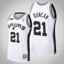 San Antonio Spurs Tim Duncan Blanc 1998-99 Hardwood Classics Swingman Mitchell - Ness Authentic NBA Finale Maillot